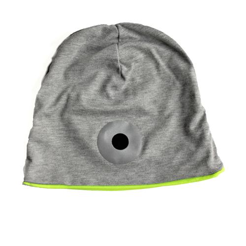 Djersey Mütze mit Mütze mit Neon-gelbem Futter