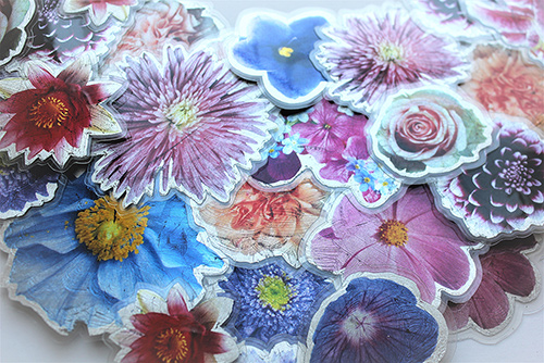Große Blumenkollier makro