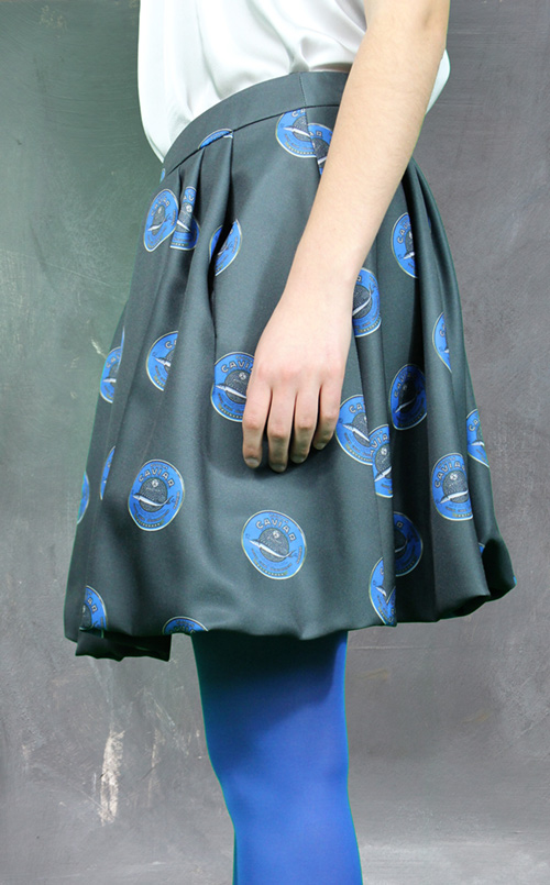 Kaviar Rock antrazit grau Seitenansicht