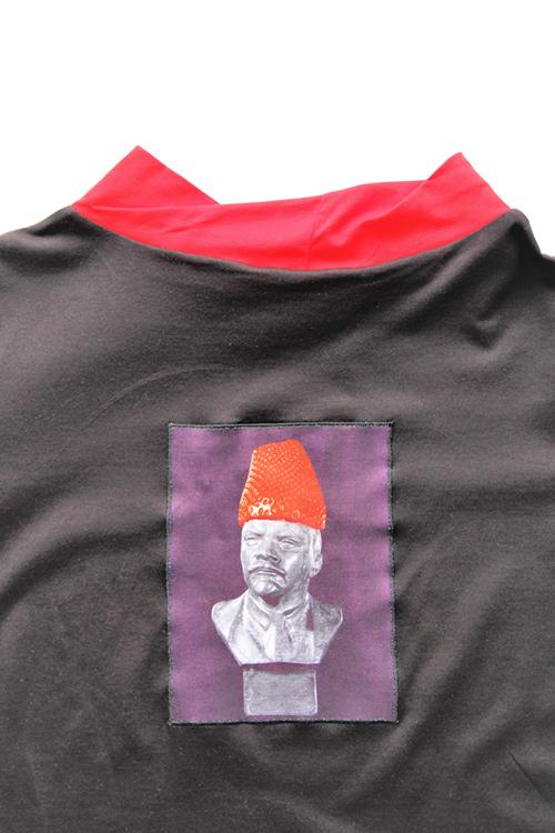 Lenin Erdbeere Bluse Aplication auf Rücken