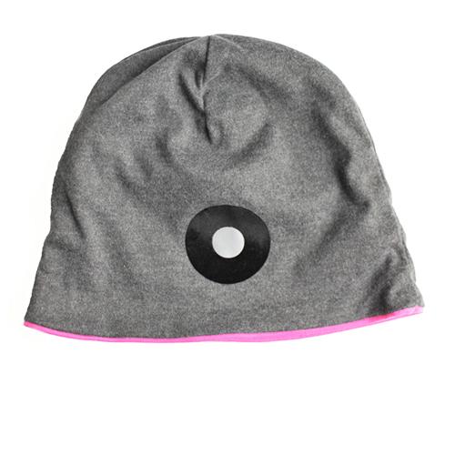 Jersey-Mütze mit pinkem Futter