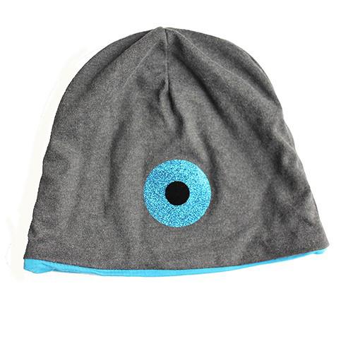 Djersey Mütze mit blauem Einsatz