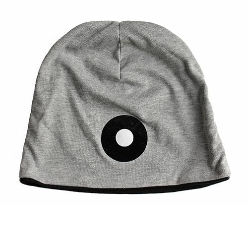 Jersey-Mütze mit Applikation