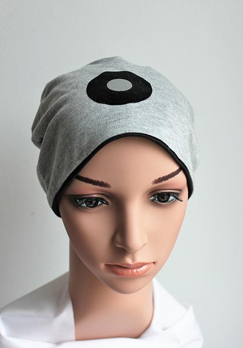 Djersey Mütze mit schwarzem Einsatz