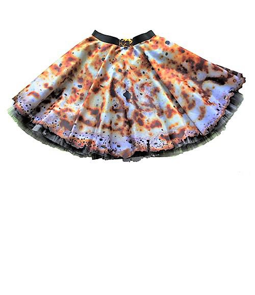 Eierkuchen-Rock mit Petticoat. Mode und designe von saschakonevaberlin