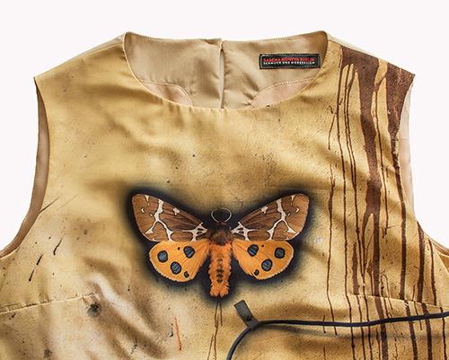 Frühlingskleid mit Schmetterling