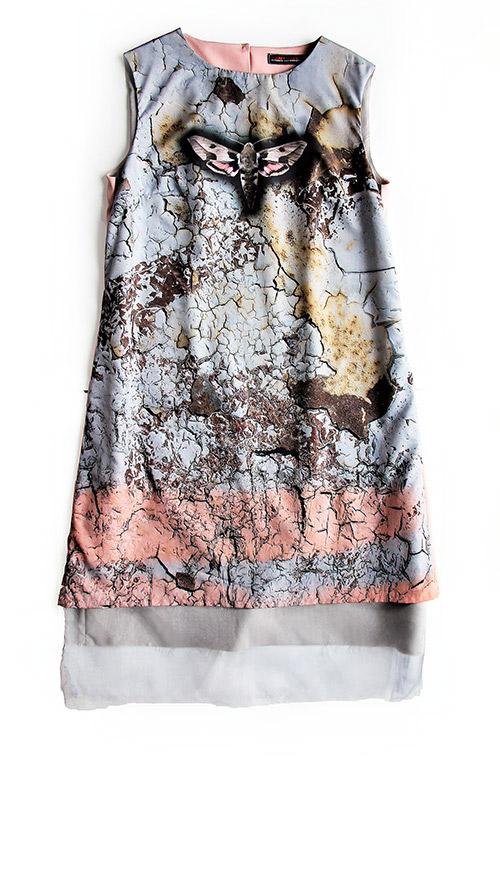 Ärmelloses A-Linien Kleid. Mode Design für jede Party