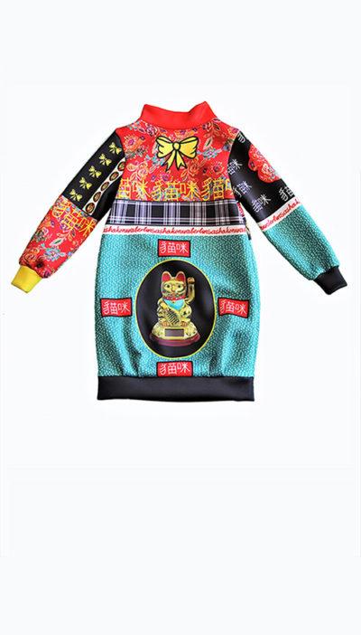 Hemdkleid aus Neopren